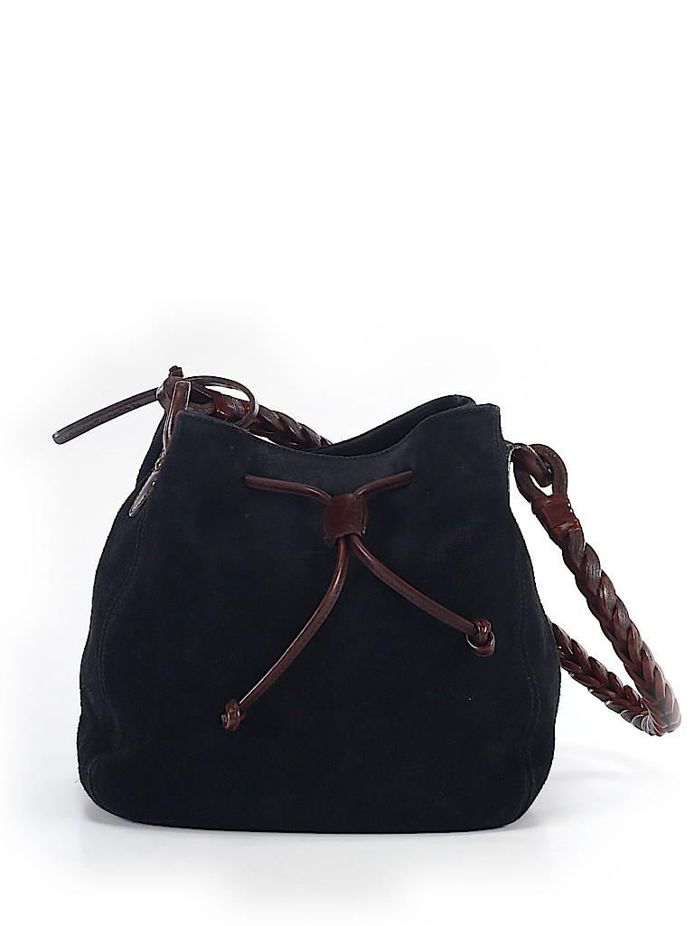 Ralph Lauren Collection Women Leather Bucket Bag One Size