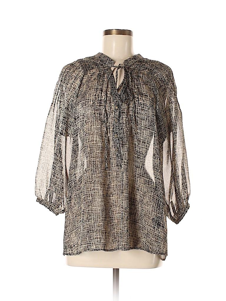 Patterson J. Kincaid Women 3/4 Sleeve Blouse Size M