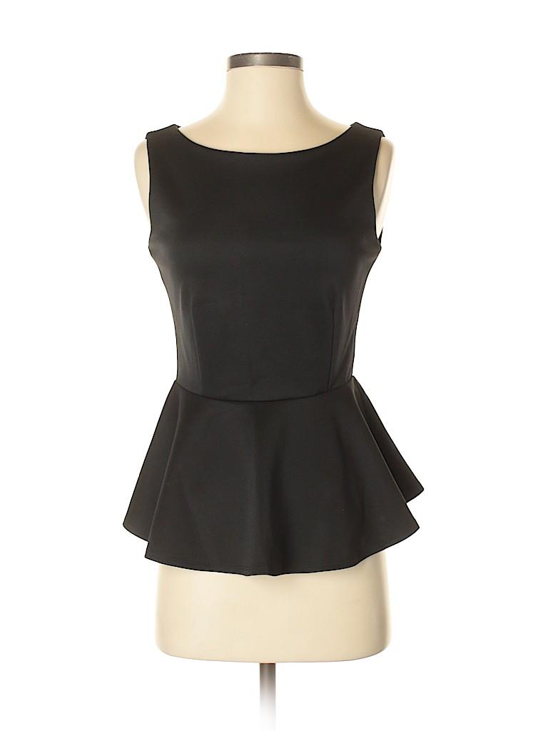 Bisou Bisou Women Sleeveless Top Size XS