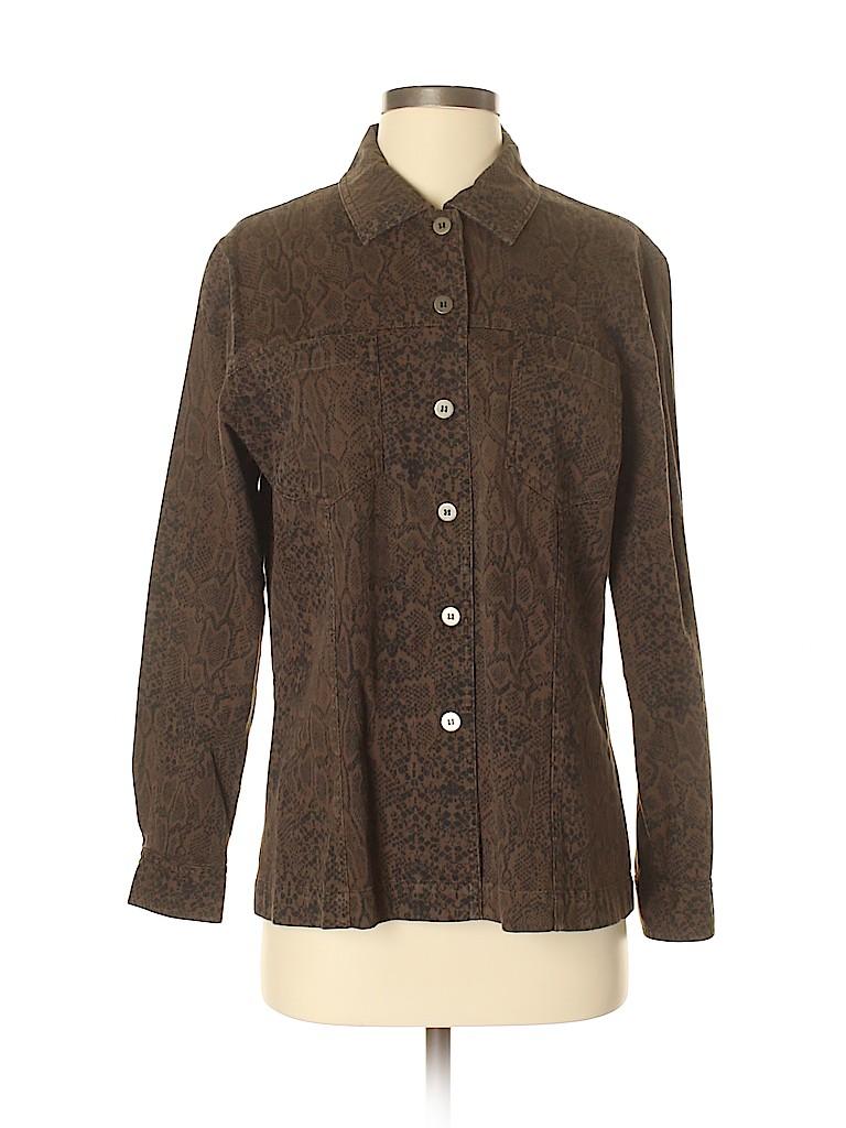 Chico's Design Women Jacket Size Med (1)