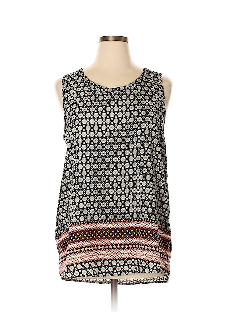 Pleione Women Sleeveless Blouse Size XL