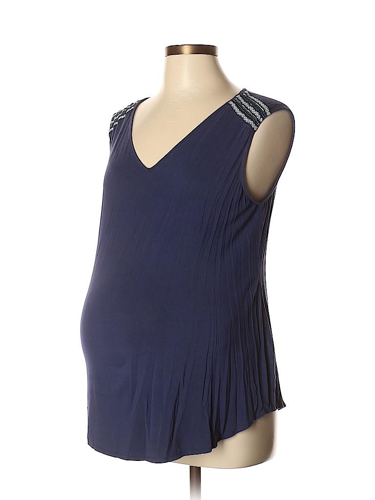 OCTAVIA Maternity Women Sleeveless Top Size L (Maternity)