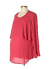 OCTAVIA Maternity Long Sleeve Blouse