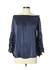 Muche et Muchette Long Sleeve Silk Top