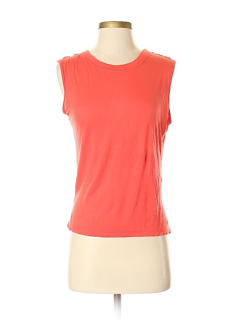 Aqua Women Short Sleeve Top Size S