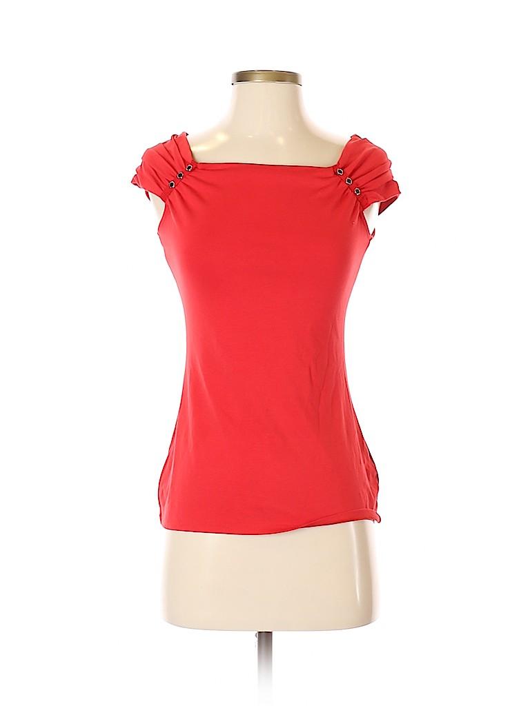 White House Black Market Women Short Sleeve Top Size XS