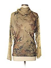 Jean Paul Gaultier Long Sleeve Silk Top