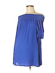 OCTAVIA Maternity Short Sleeve Blouse
