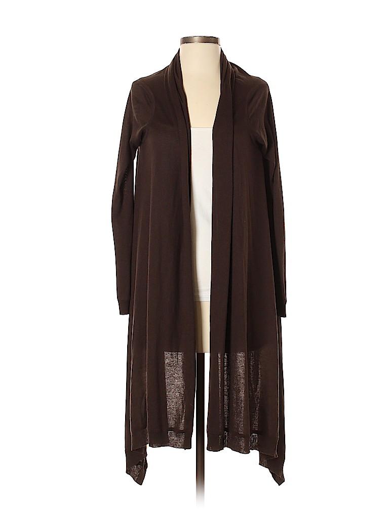 DKNY Women Silk Cardigan Size S (Petite)