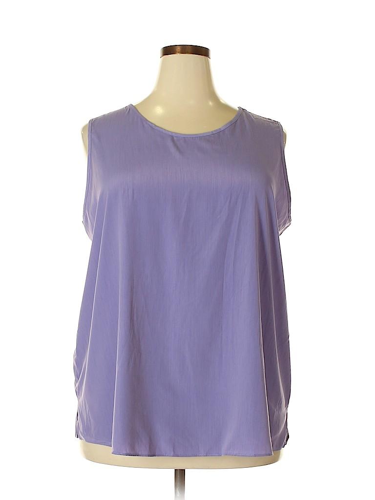 Maggie Sweet Women Sleeveless Blouse Size 2X (Plus)