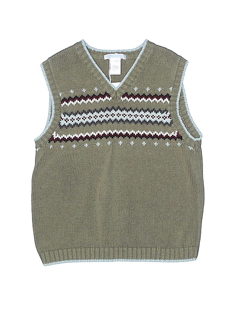 Janie and Jack Boys Sweater Vest Size 6