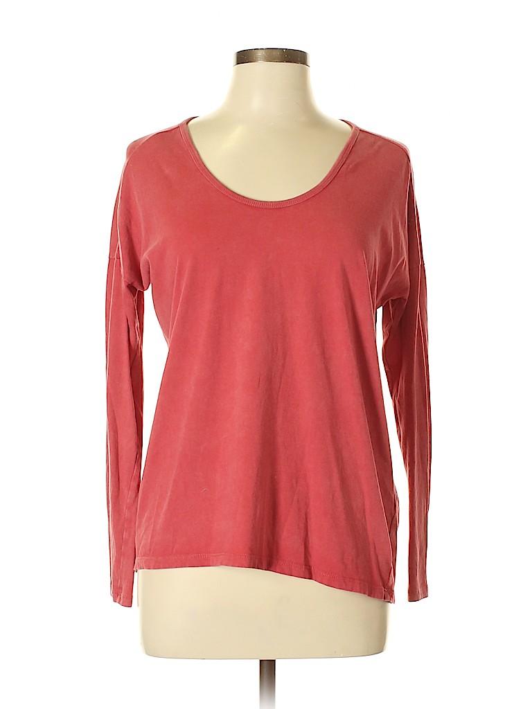 Madewell Women 3/4 Sleeve T-Shirt Size S