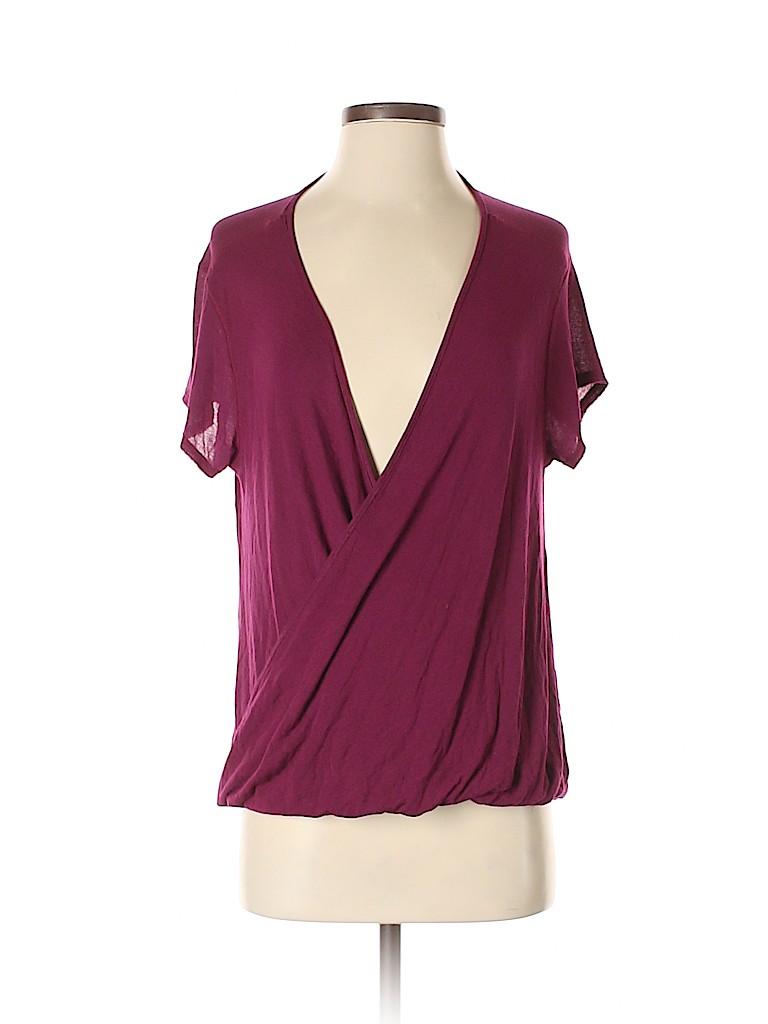 Free People Women Short Sleeve Blouse Size XS
