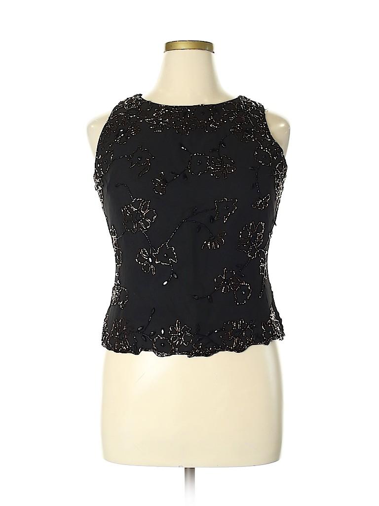 Jkara Women Sleeveless Blouse Size XL