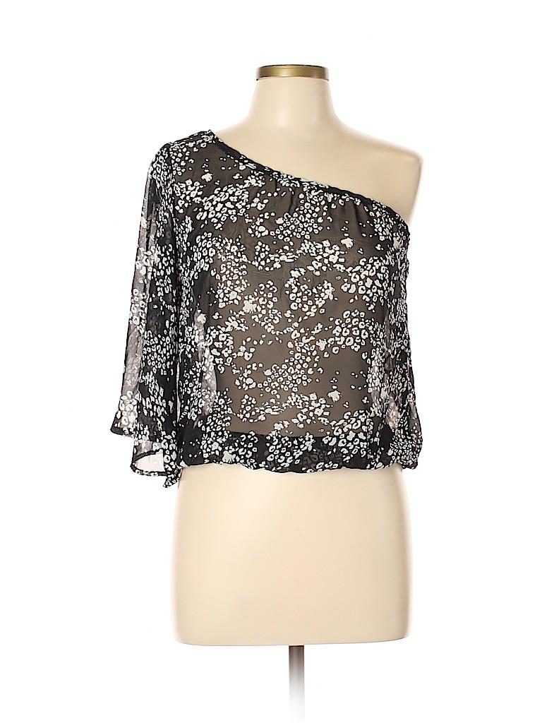 Mind Code Women 3/4 Sleeve Blouse Size L