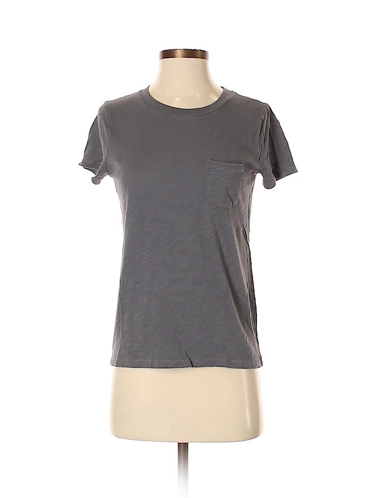 Madewell Women Short Sleeve T-Shirt Size XXS