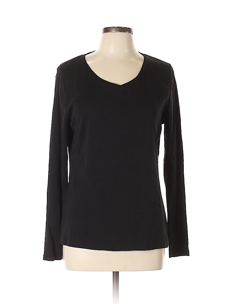 Talbots Women Long Sleeve T-Shirt Size L