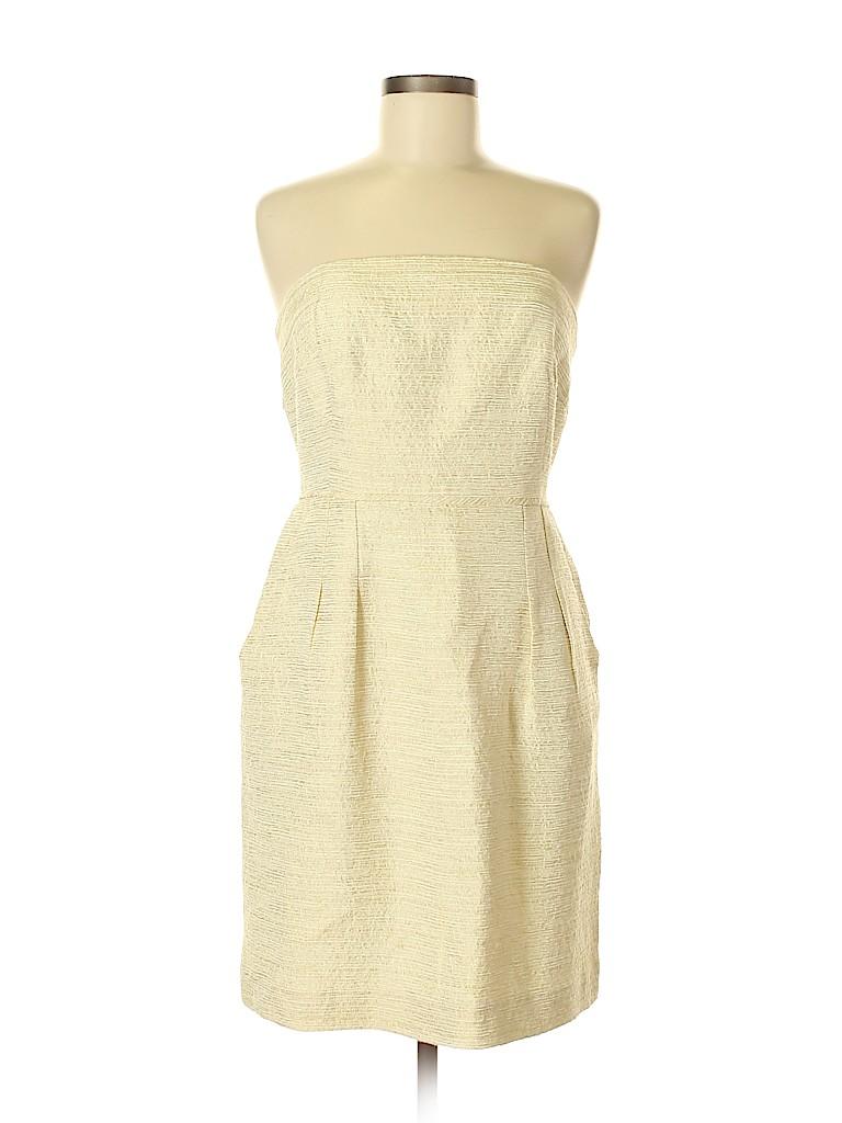 4816d0e3f84 Shoshanna Metallic Beige Cocktail Dress Size 8 - 86% off