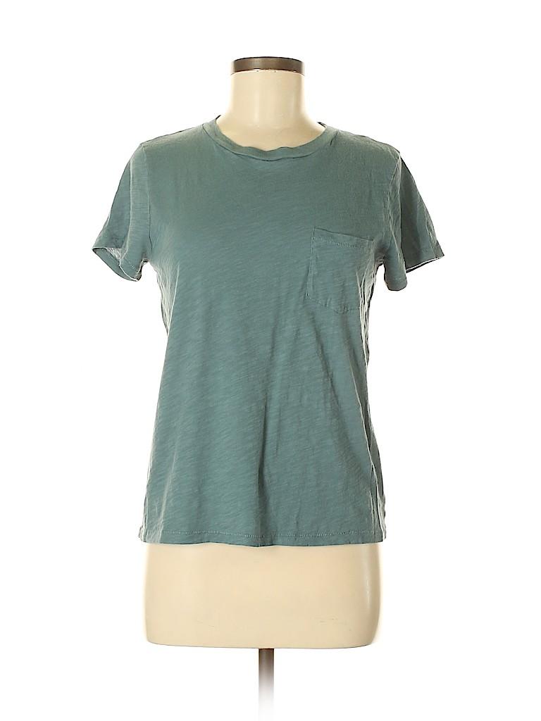 Madewell Women Short Sleeve T-Shirt Size M