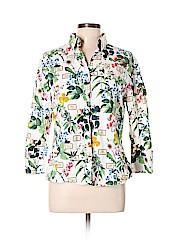 Carolina Herrera 3/4 Sleeve Button-down Shirt