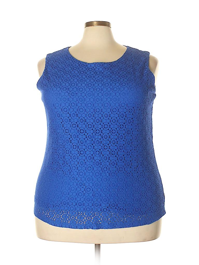 Talbots Women Sleeveless Top Size 3X (Plus)