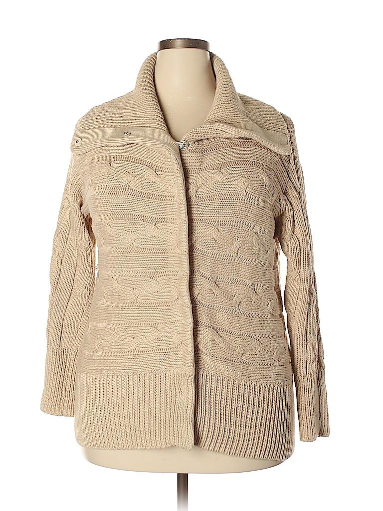 Talbots Women Cardigan Size 1X (Plus)