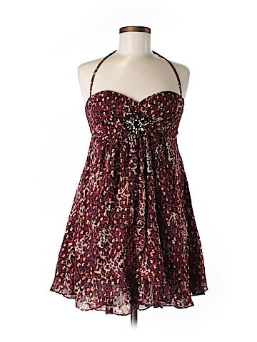 Bebe Silk Dress Size M