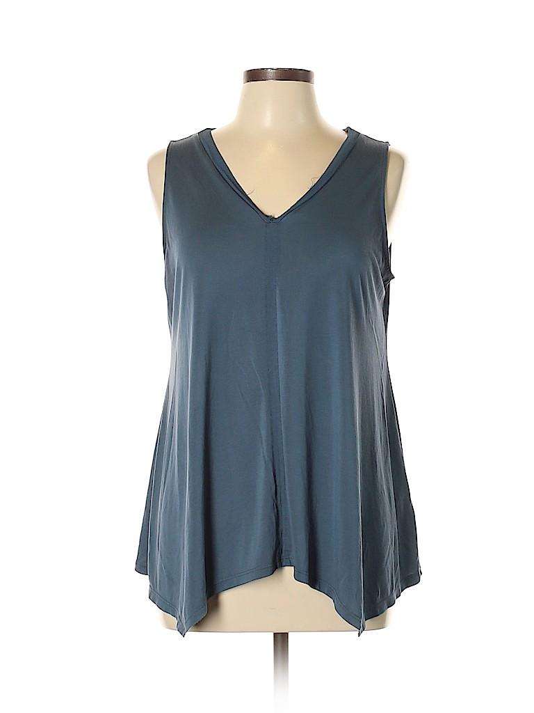 c1d68de2889417 Cupio Blue Sleeveless Top Size L - 66% off
