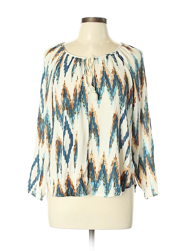 Love Stitch Women Long Sleeve Blouse Size L