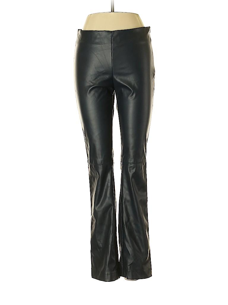 MNG Suit Women Faux Leather Pants Size S