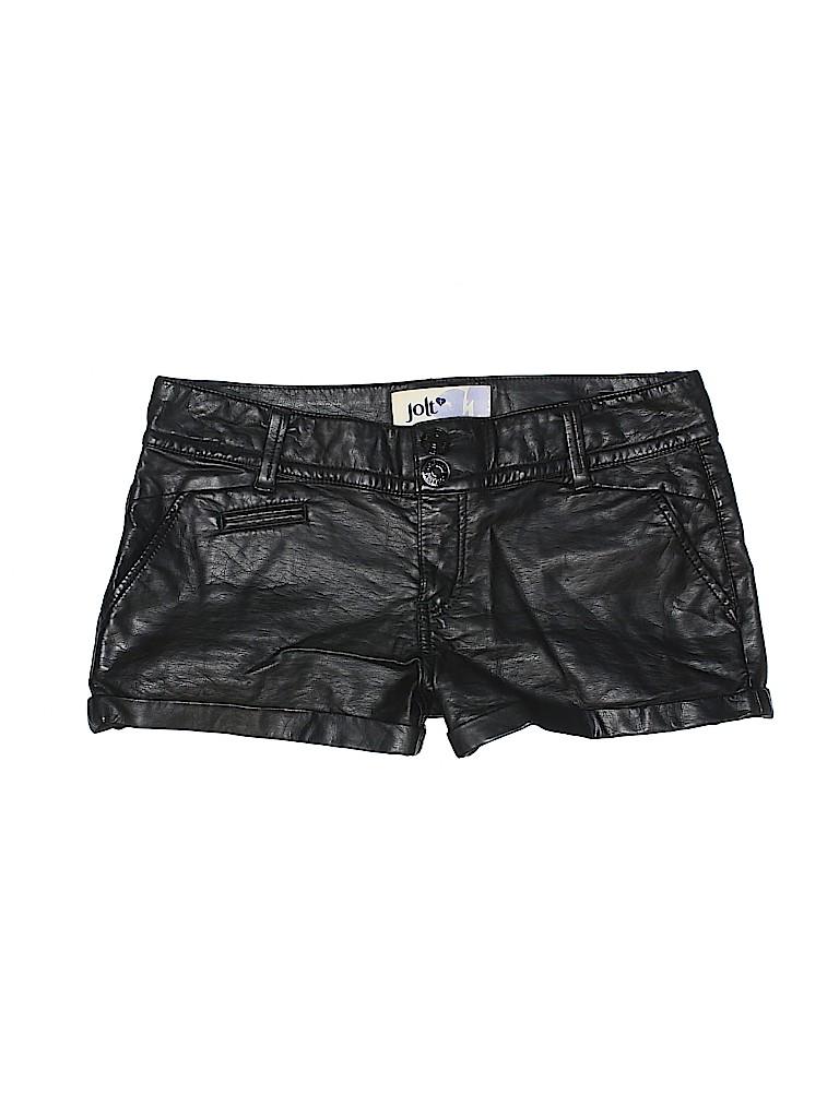 Jolt Women Leather Shorts Size 5