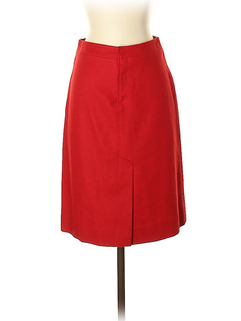 Tsesay Women Wool Skirt Size 2