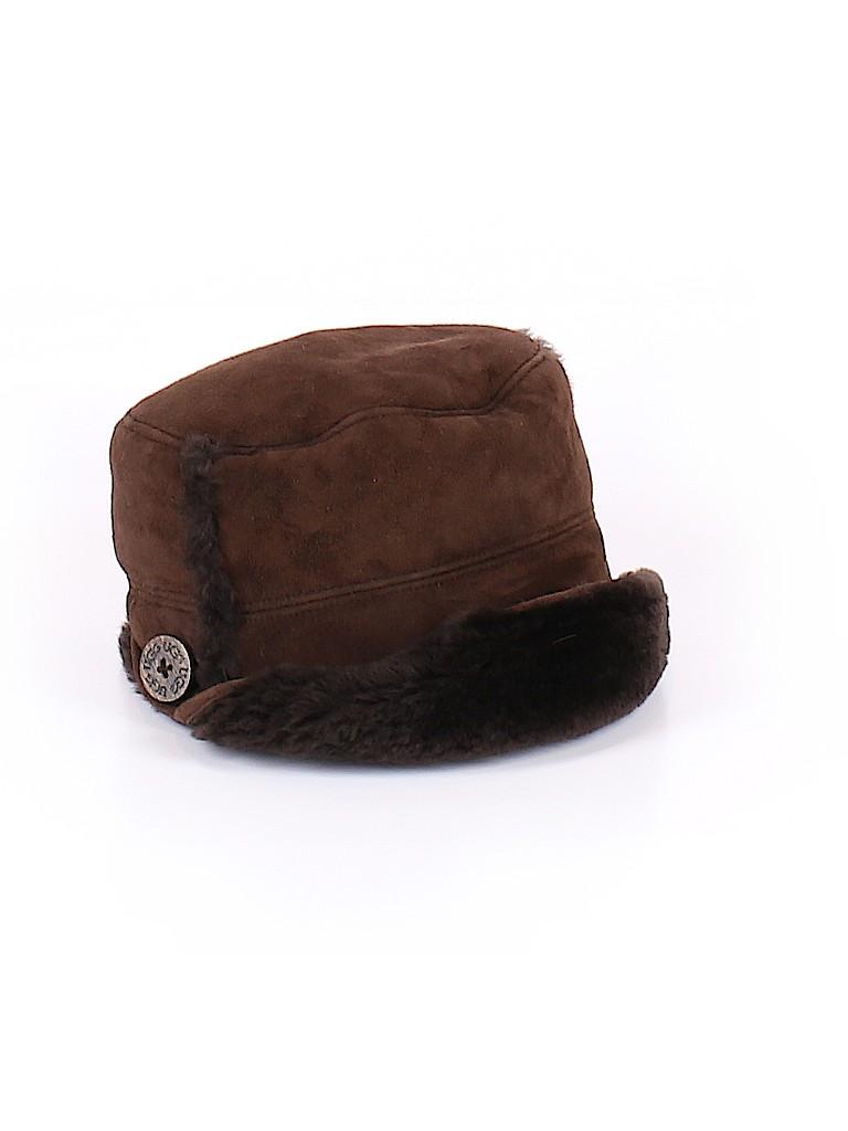 Ugg Australia Solid Brown Winter Hat One Size - 63% off  5da04825374