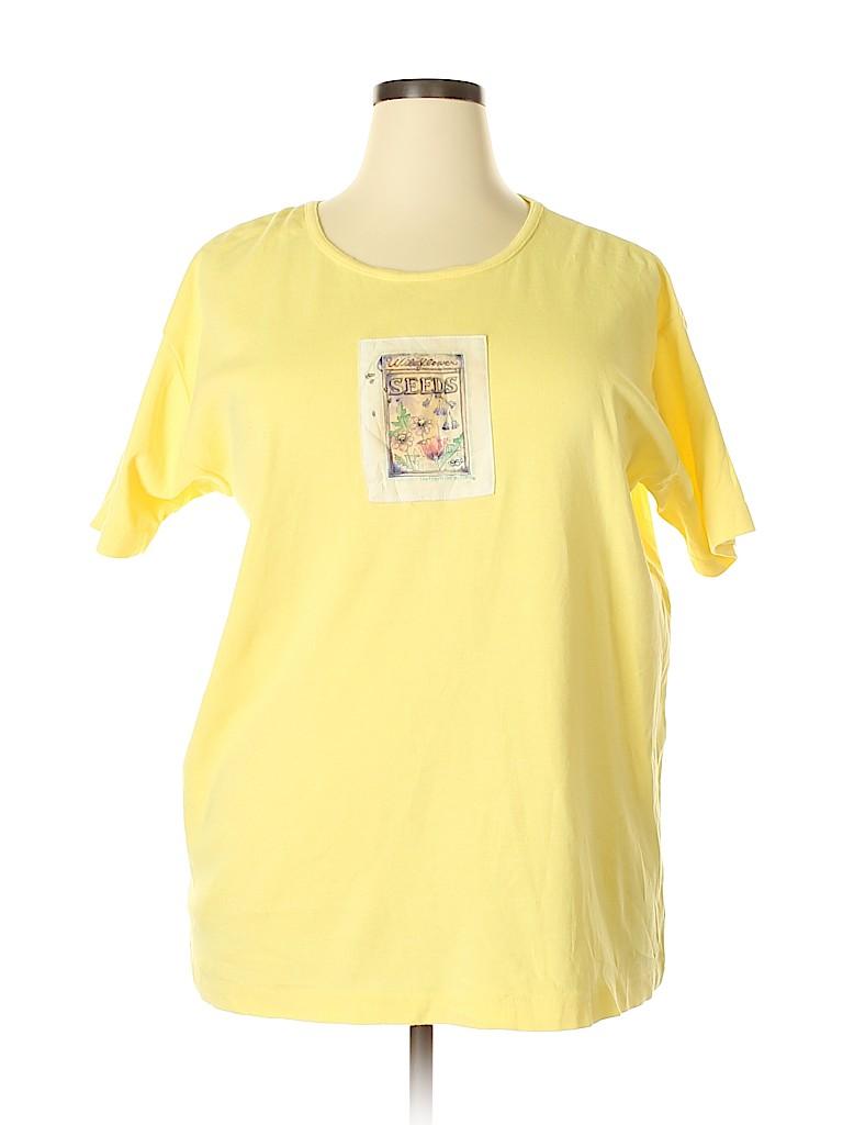 Northern Reflections Women Short Sleeve T-Shirt Size XL