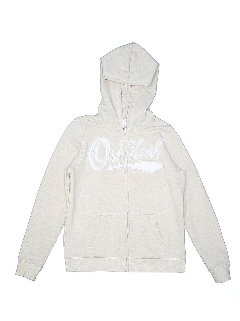 OshKosh B'gosh Girls Zip Up Hoodie Size 14