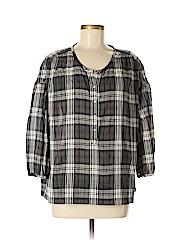 Nili Lotan 3/4 Sleeve Button-down Shirt