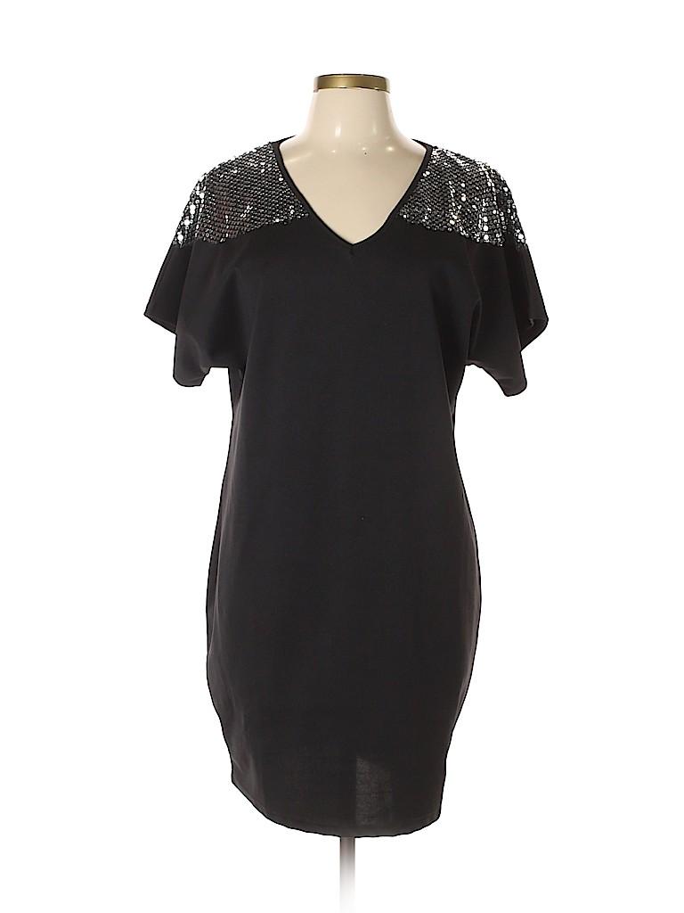 Fashion Classics Women Cocktail Dress Size L