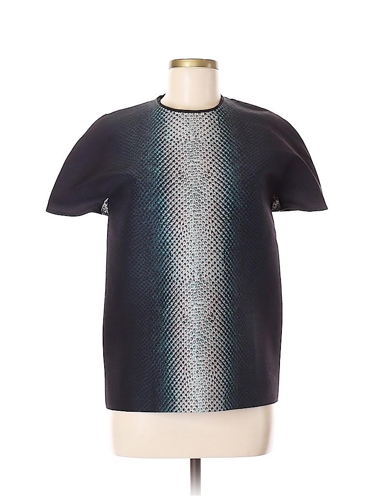 Cedric Charlier Women Short Sleeve Blouse Size 6