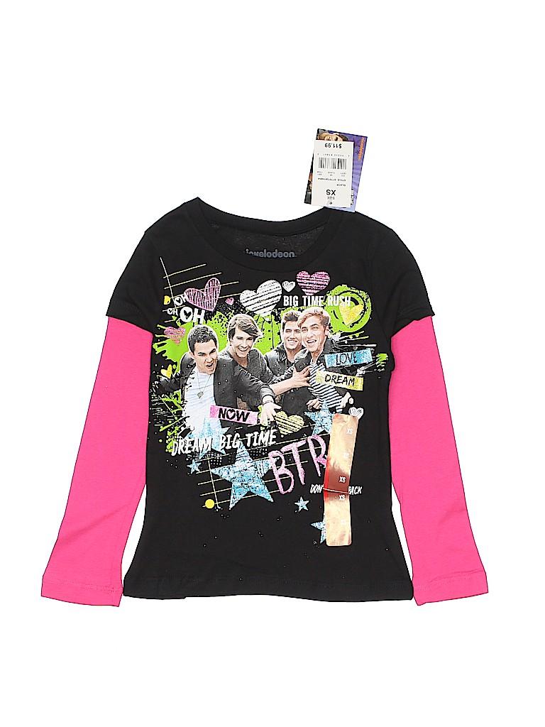 Nickelodeon Girls Long Sleeve T-Shirt Size X-Small (Kids)
