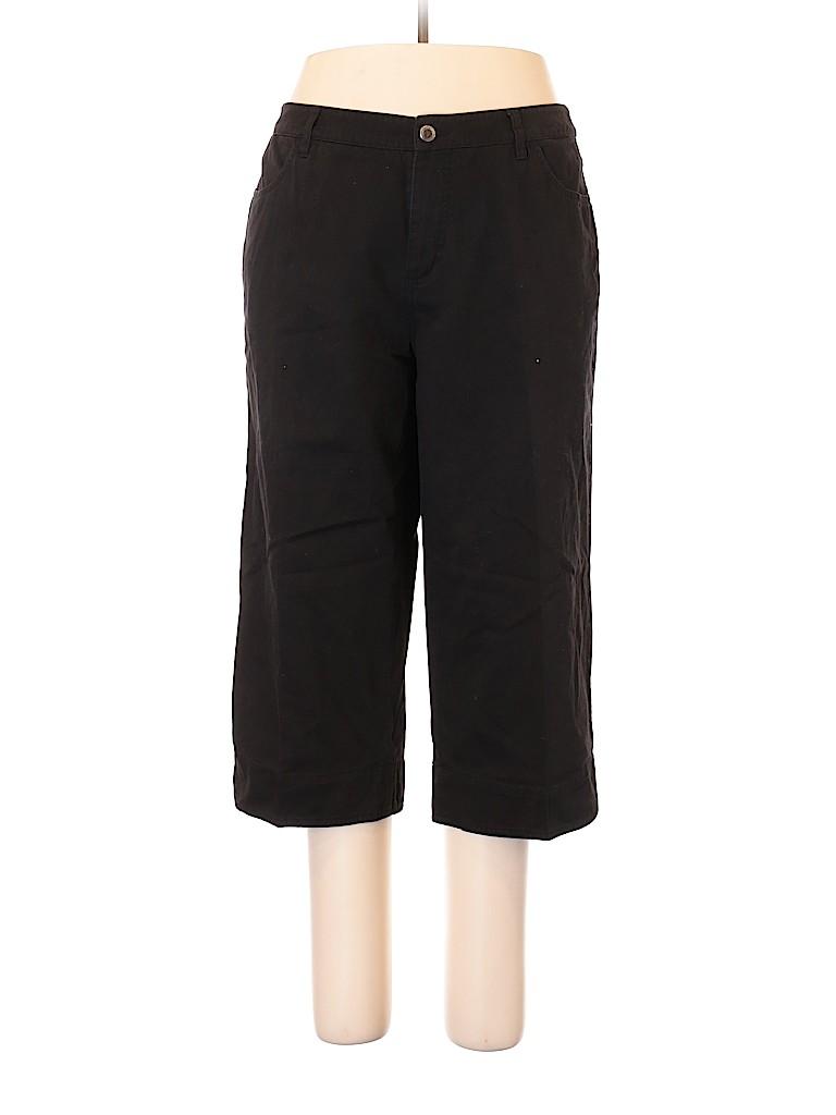 Faded Glory Women Khakis Size 18 (Plus)