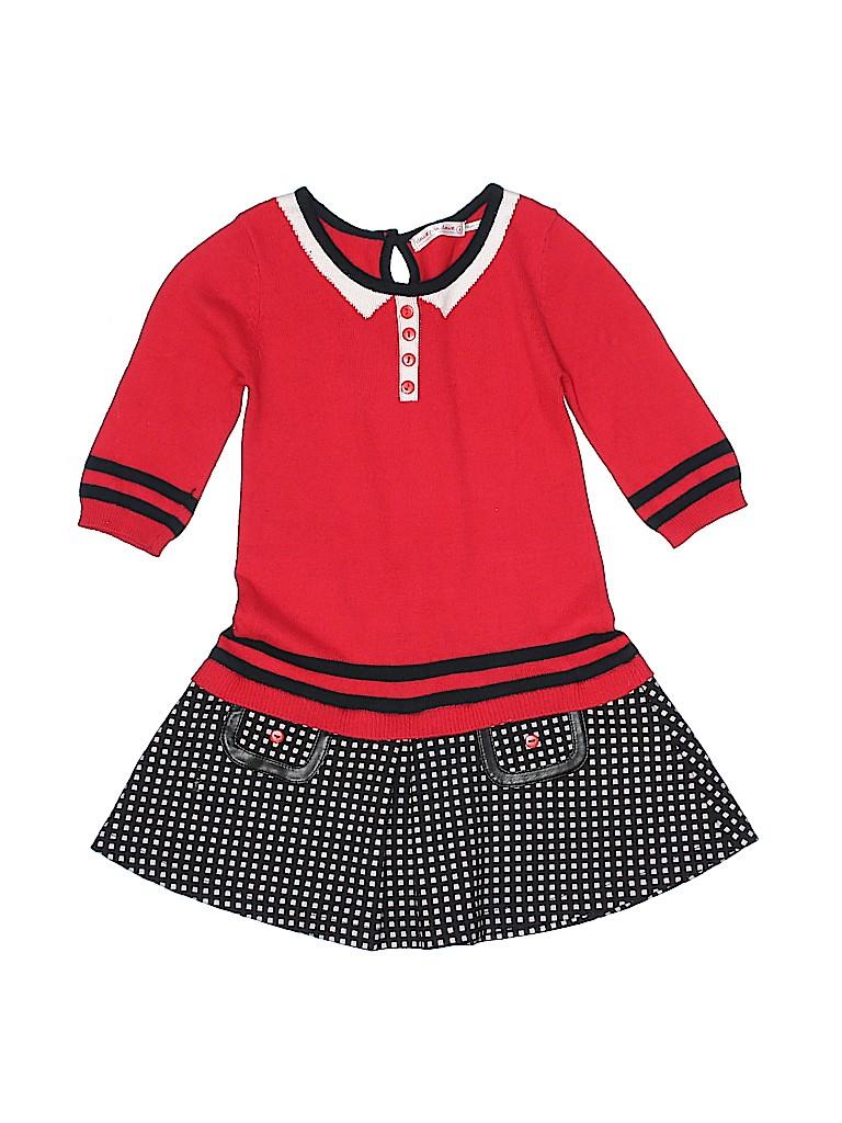 Deux Par Deux Girls Dress Size 4