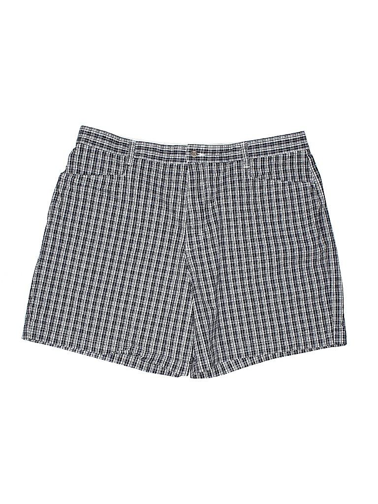 Lee Women Khaki Shorts Size 18 (Plus)