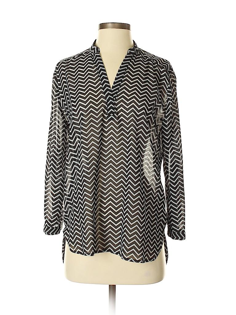 Tacera Women Long Sleeve Blouse Size S