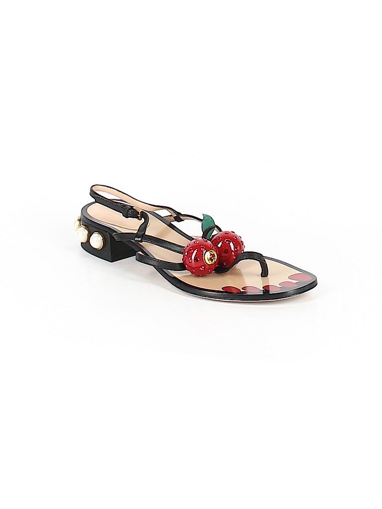 a6eb7103720d Gucci Solid Black Sandals Size 36 (IT) - 60% off