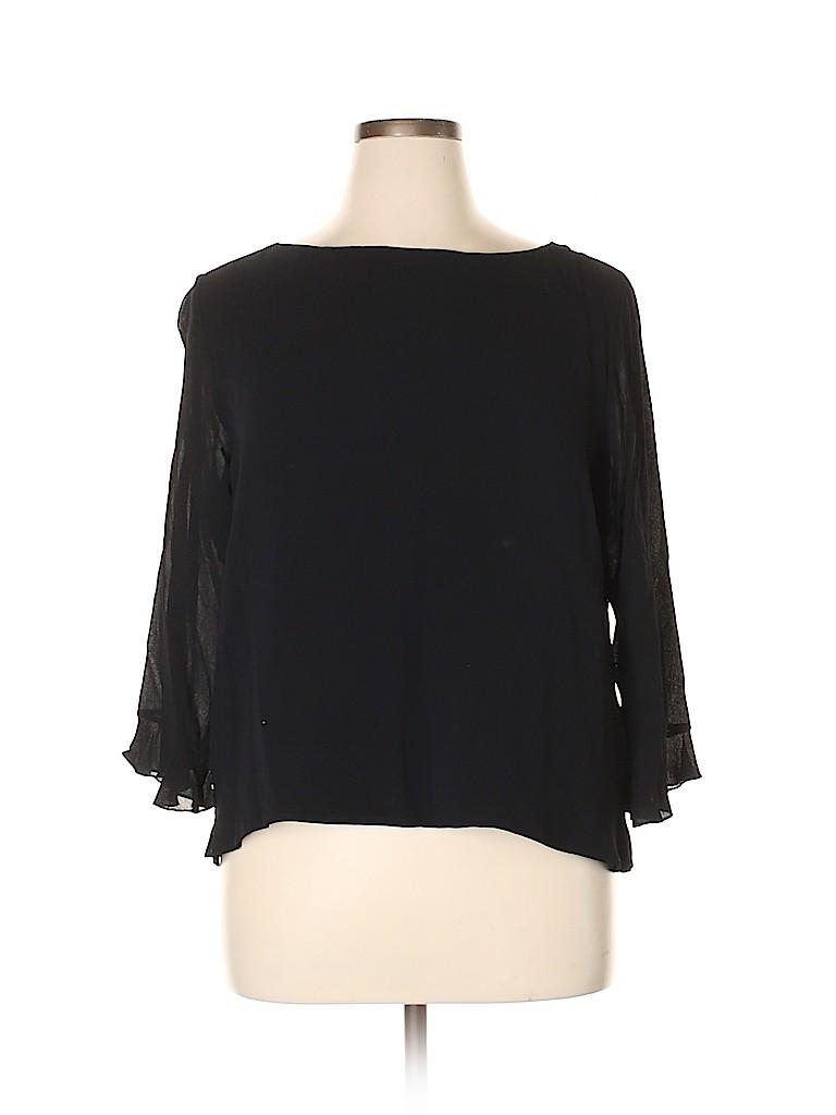 David Dart Women 3/4 Sleeve Blouse Size XL