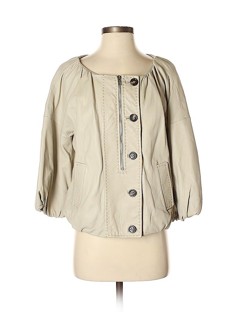 BCBGMAXAZRIA Women Leather Jacket Size S