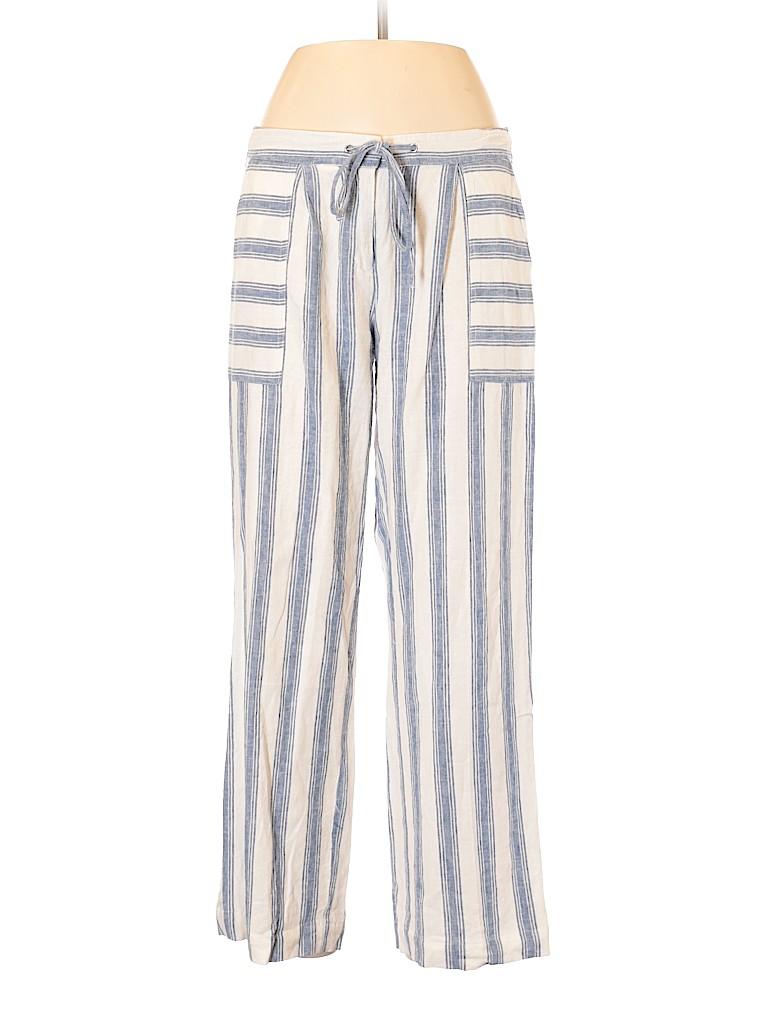 7e727f7d77 Laundry by Shelli Segal Stripes White Linen Pants Size 8 - 85% off ...