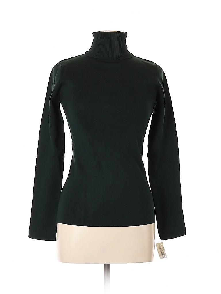 LINE Women Silk Pullover Sweater Size L