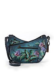 Anuschka Leather Crossbody Bag