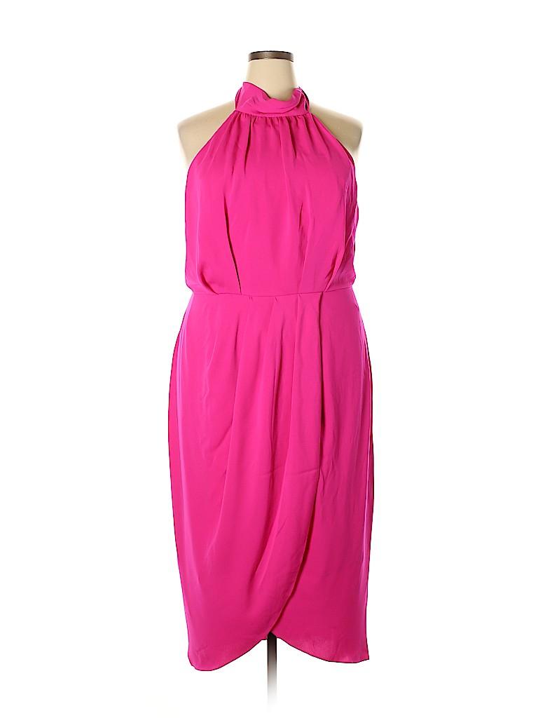 City Chic Women Cocktail Dress Size 16 (S)